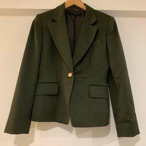 Anne Klein olive green petite blazer